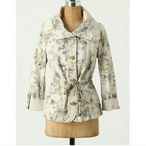 Anthro Daughters of the Liberation Floral Jacket